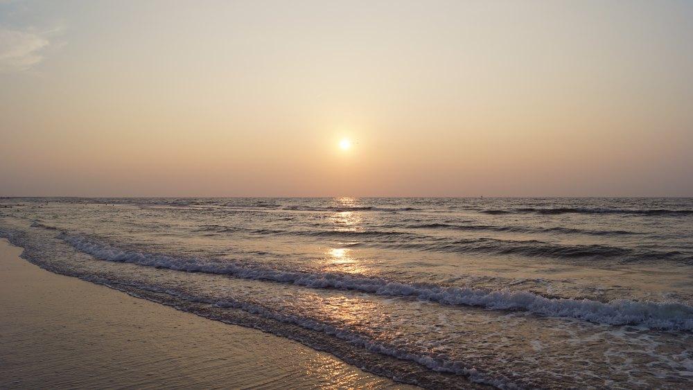 Philosophieren bei Sonnenuntergang