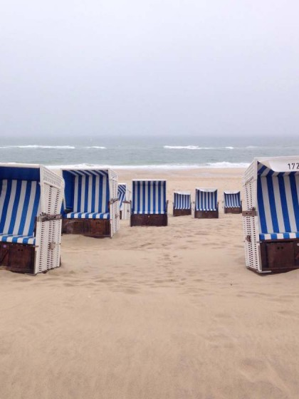 Westerland/Sylt bei Regen