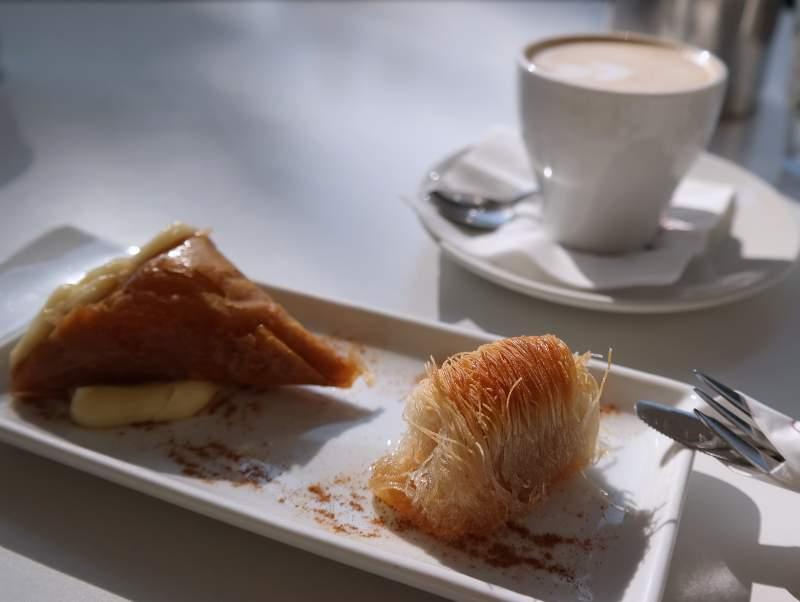 Süße Kleinigkeiten, typisch Thessaloniki