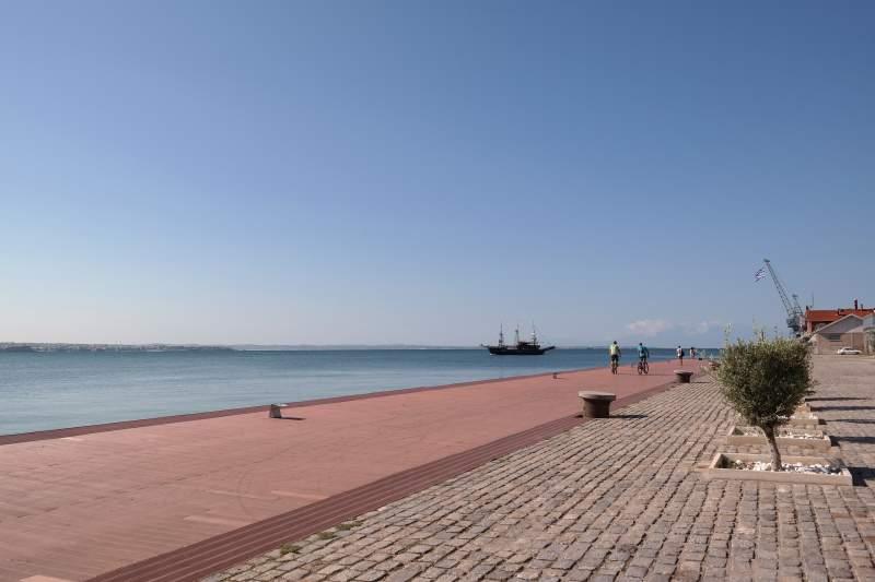 Im Hafen von Thessaloniki