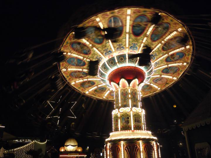Karussel im Tivoli
