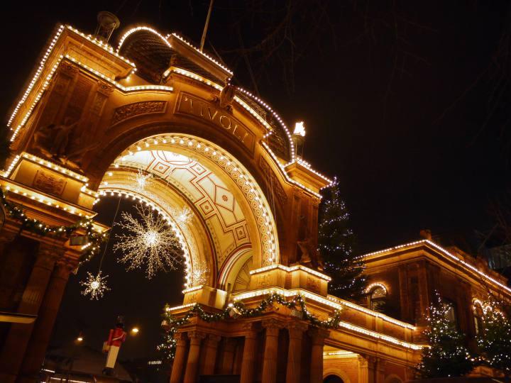Tivoli in der Weihnachtszeit