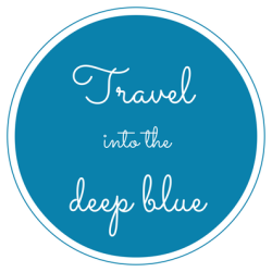 Travel into the deep blue