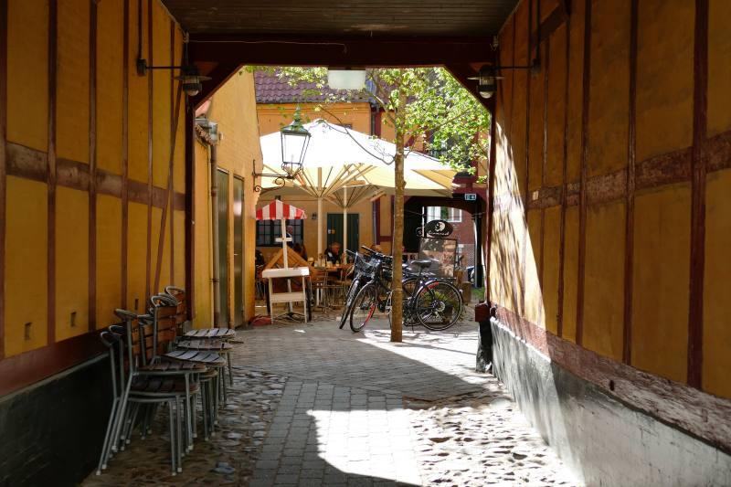 Historischer Innenhof, Vejle