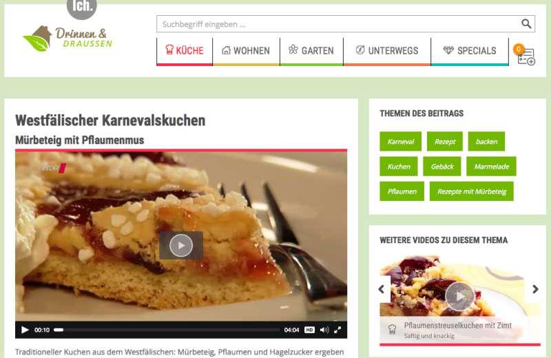 Lecker Kuchen zu Karneval © WDR mediagroup