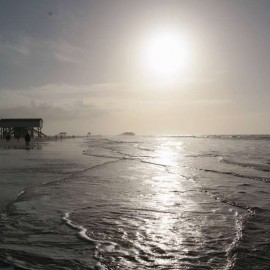 Sankt Peter-Ording im Winter