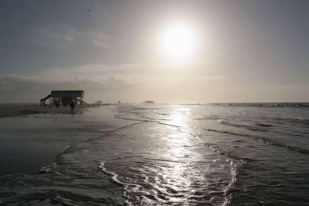 Wintertage An Der Nordsee