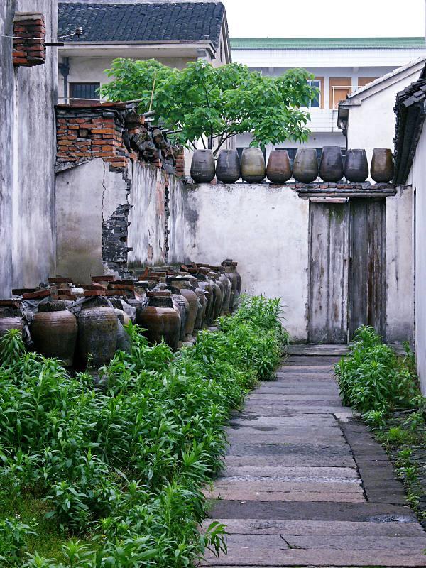 Reiswein in Ton, Wuzhen