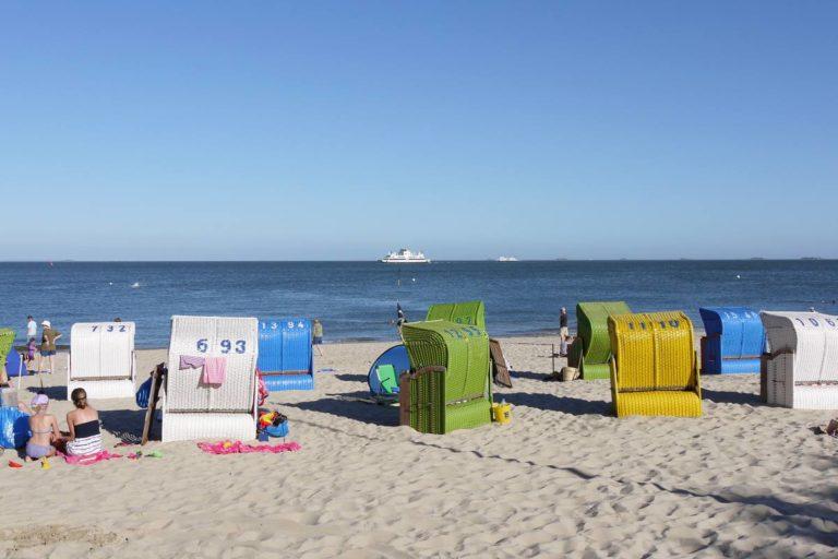 Strandtest Wyk