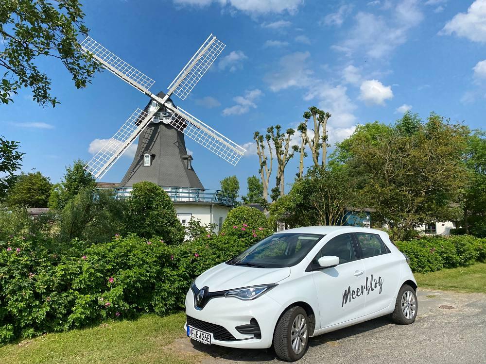 Mit dem E-Auto nach Nordermeldorf